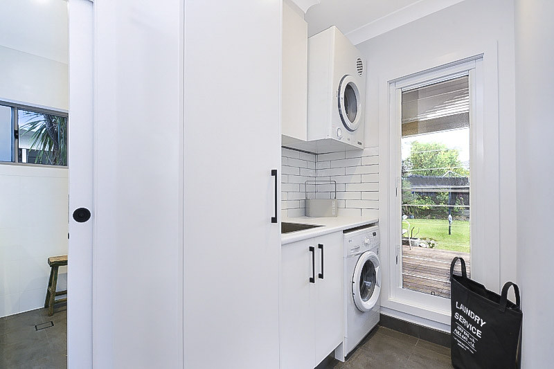 Como laundry renovation by Shire Build