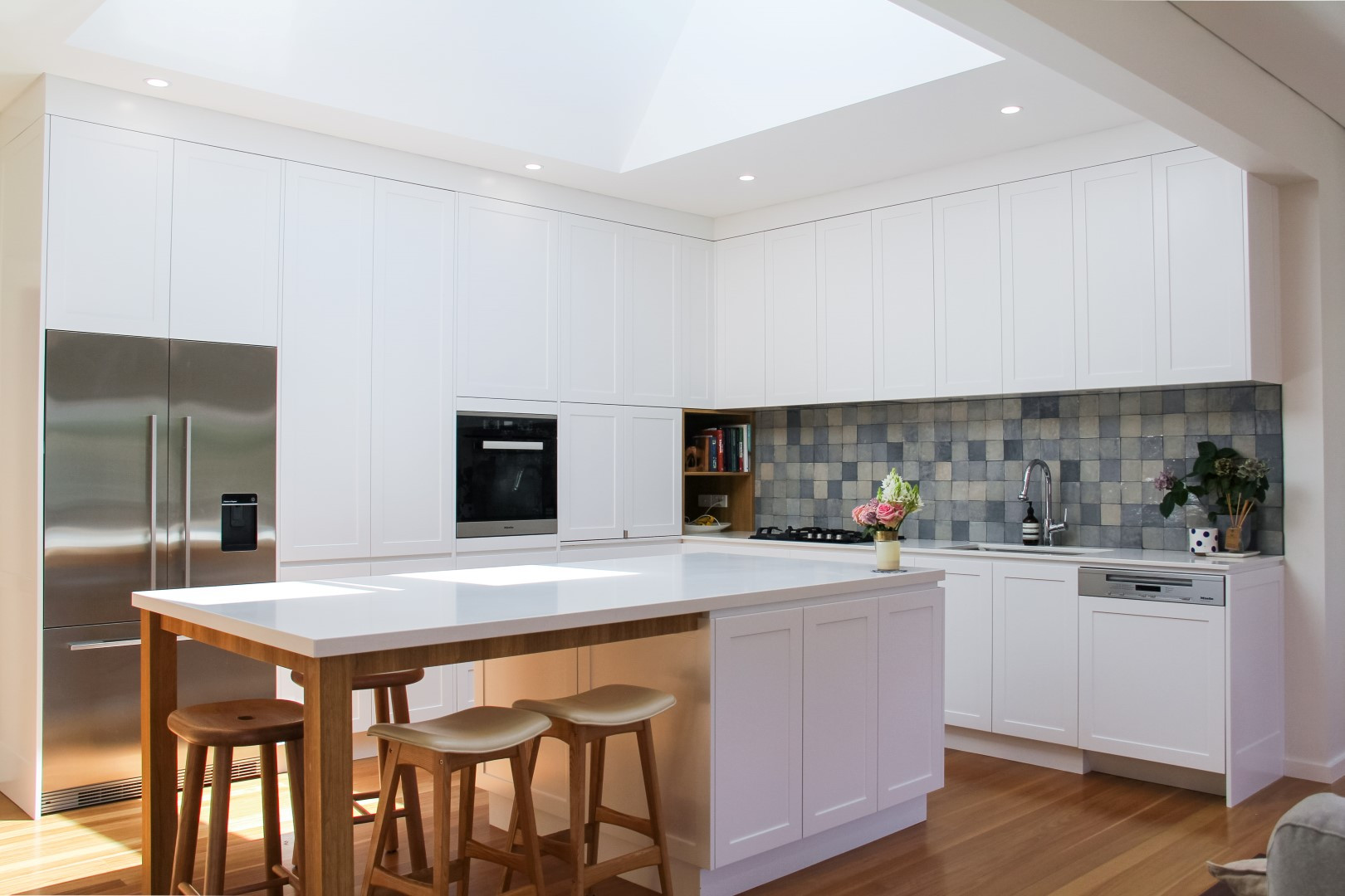 Light filled Como Kitchen - Shire Build renovations in the Sutherland Shire