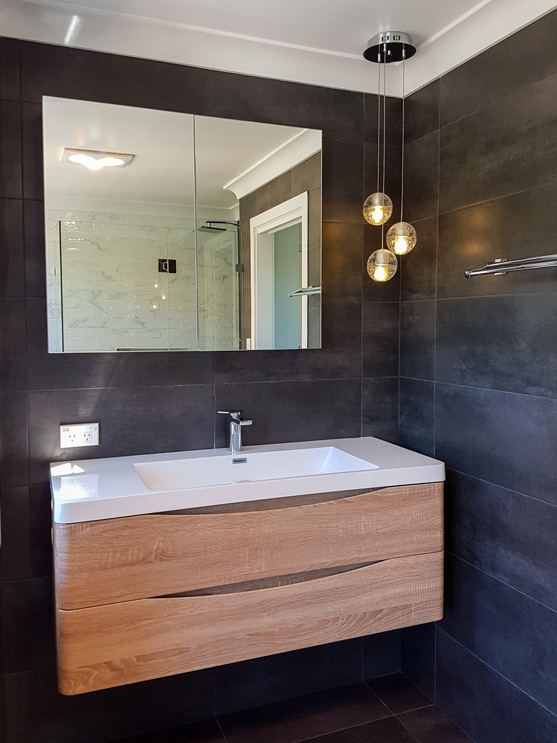 Oyster Bay bathroom by Shire Build