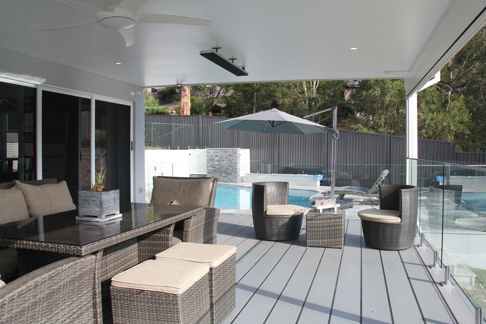 Outdoor living renovation by Shire Build