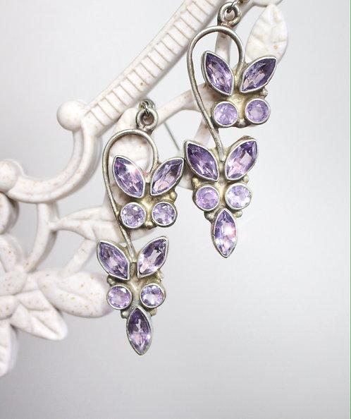 KOBALIYA Lilac Dream Vintage Earrings