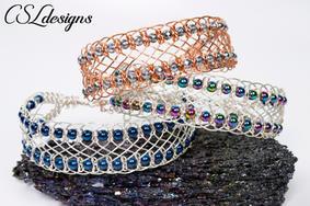 Beaded corset wire macrame bracelet.jpg