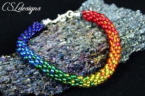 Rainbow beaded kumihimo bracelet.jpg