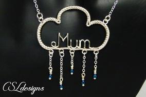 Mum wirework pendant black.jpg