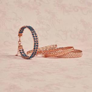 Kumihimo wirework bracelets