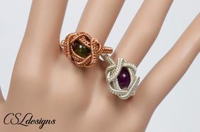 Beads nest wirework ring 3.jpg