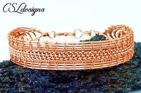 Wire woven kumihimo bracelet plain.jpg