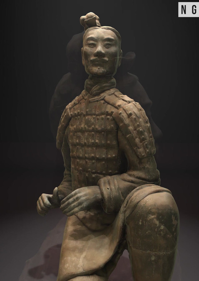 Terracotta Warrior - Photogrammetry Animation