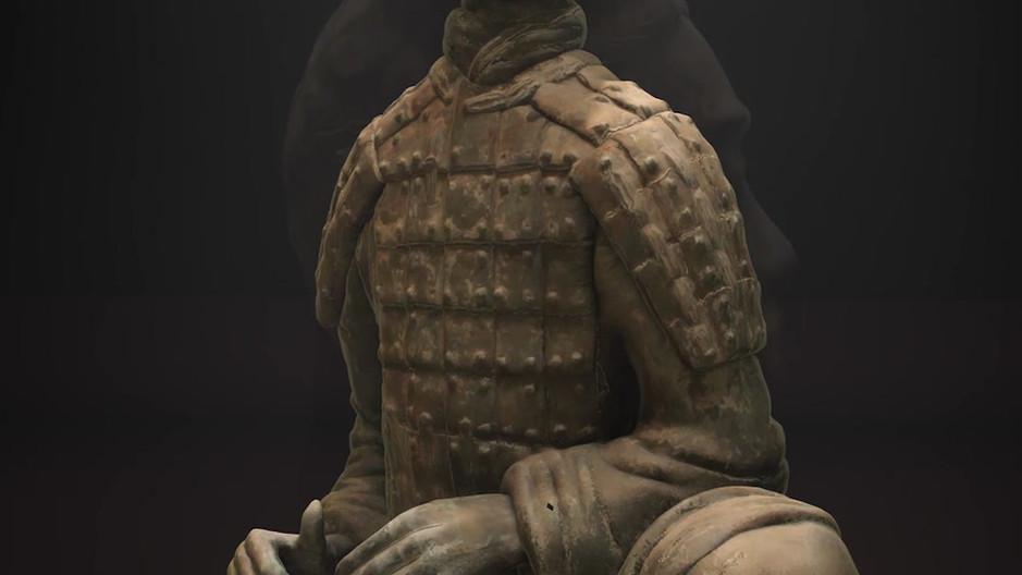 Terracotta Warrior - Photogrammetry Animation