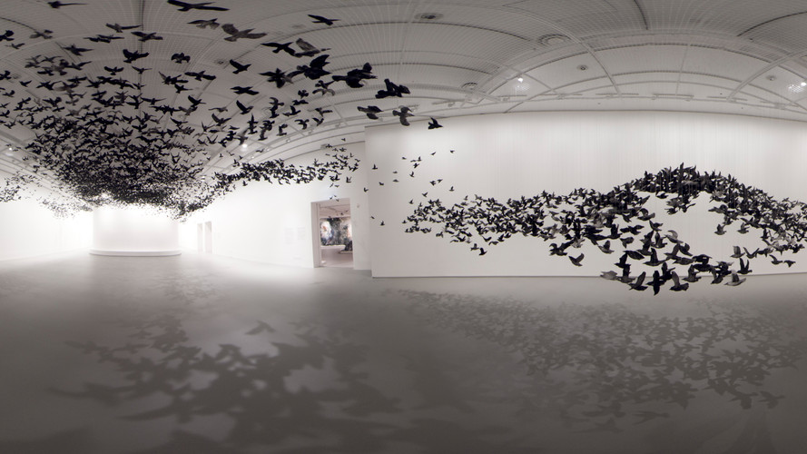 Cai Guo-Qiang's The Transient Landscape