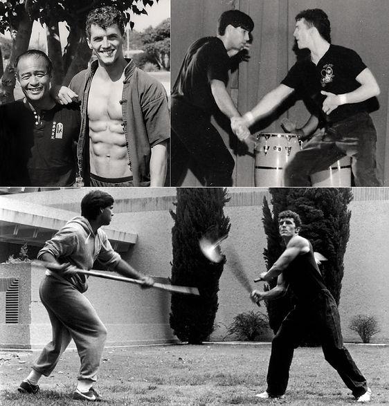 Dan Inosanto, Burton Richardson & Mark M