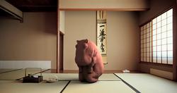 Hippo at Tea Ceremony