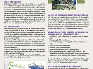 Anzeige auf Tennis Nordwest-Deutschland (Ausgabe 02/2016)