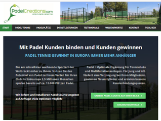 Neue Webseite: www.padelcreations.com