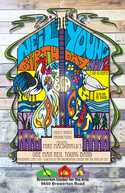 Neil Young Tribute show poster