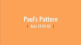 5/31 Primacy of Paul