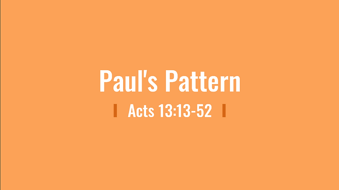 05/31 Primacy of Paul