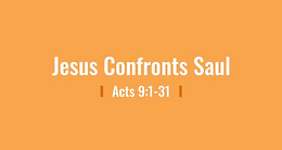 5/10 The Confrontation of Saul