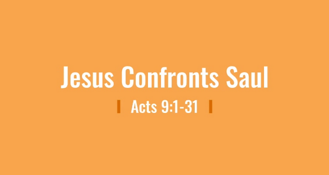 05/10 The Confrontation of Saul