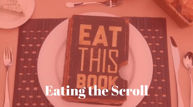 11/22 Eating the Scroll