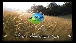 10/04 What is Apocalypse