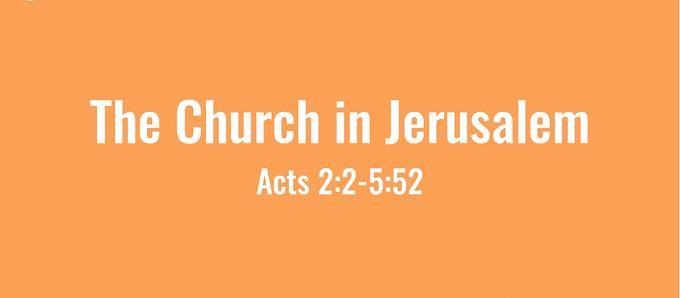 04/19 Jerusalem Church