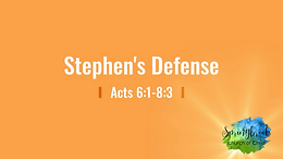 4/26 Stephen's Defense