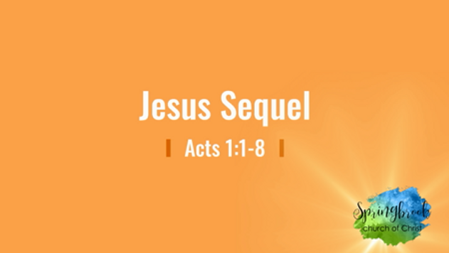 03/29 Jesus Sequel