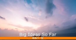 5/24 Big Ideas So Far