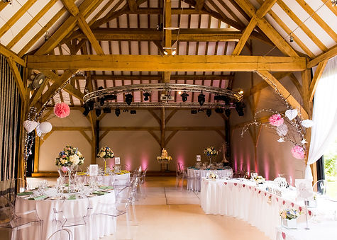 Wedding Large Reception Barn Wedding