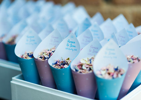 Wedding Confetti Medium Reception