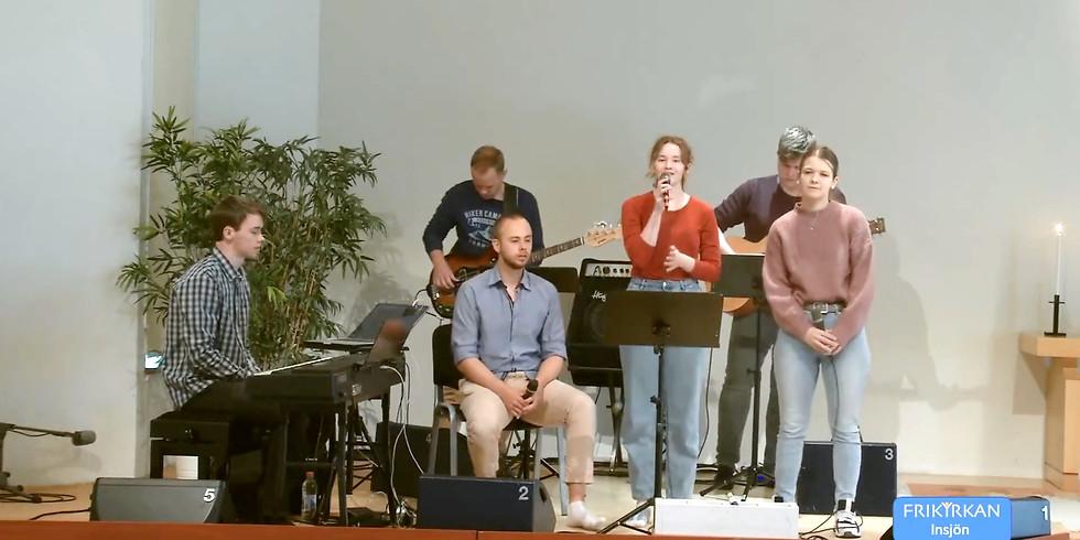 Följ våra gudstjänster via direktsänd webb-tv