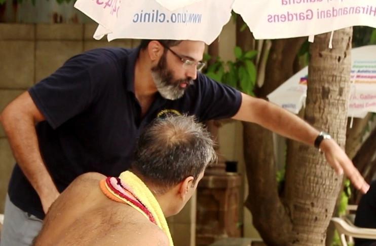 Swim Coach Ashutosh Barve