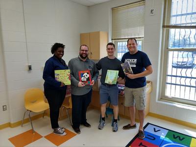 Miner Elementary 1,000 Book Drop Off.jpg