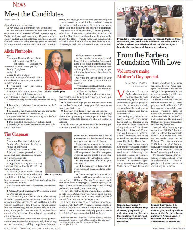 Barbera Foundation in the News!