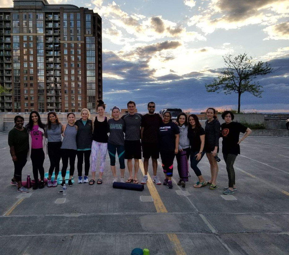 Sunset Yoga to Help Women of Domestic Violence