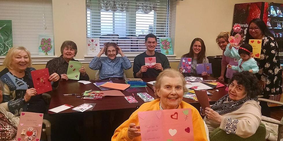 10,000 Valentine's: Cards with Elderly!