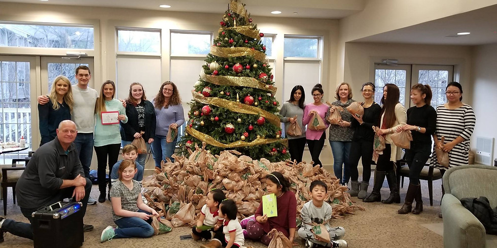 Christmas Care Package: Assembly & Ugly Sweater Contest