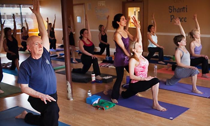 Yoga + Philanthropy = a great mix