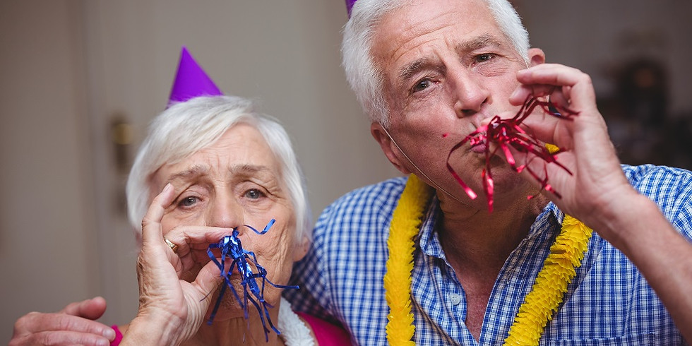 NYE with the Elderly folks!