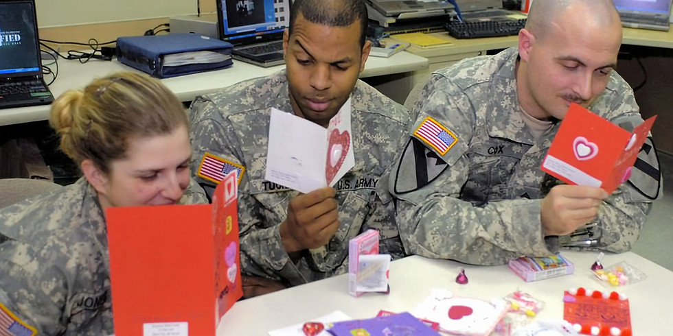 Valentines for Vets Card Drive: DC