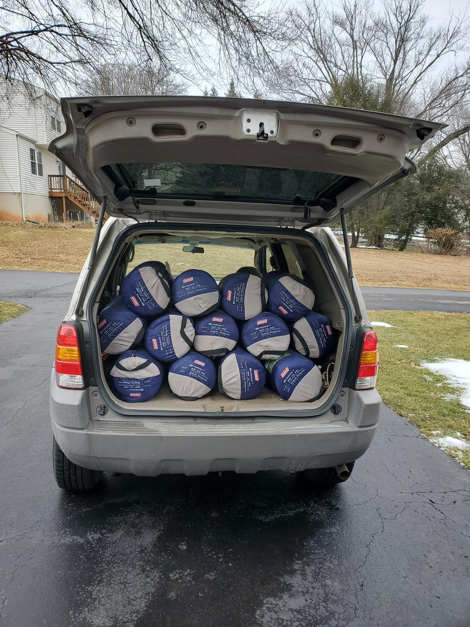 Sleeping Bags For Homeless