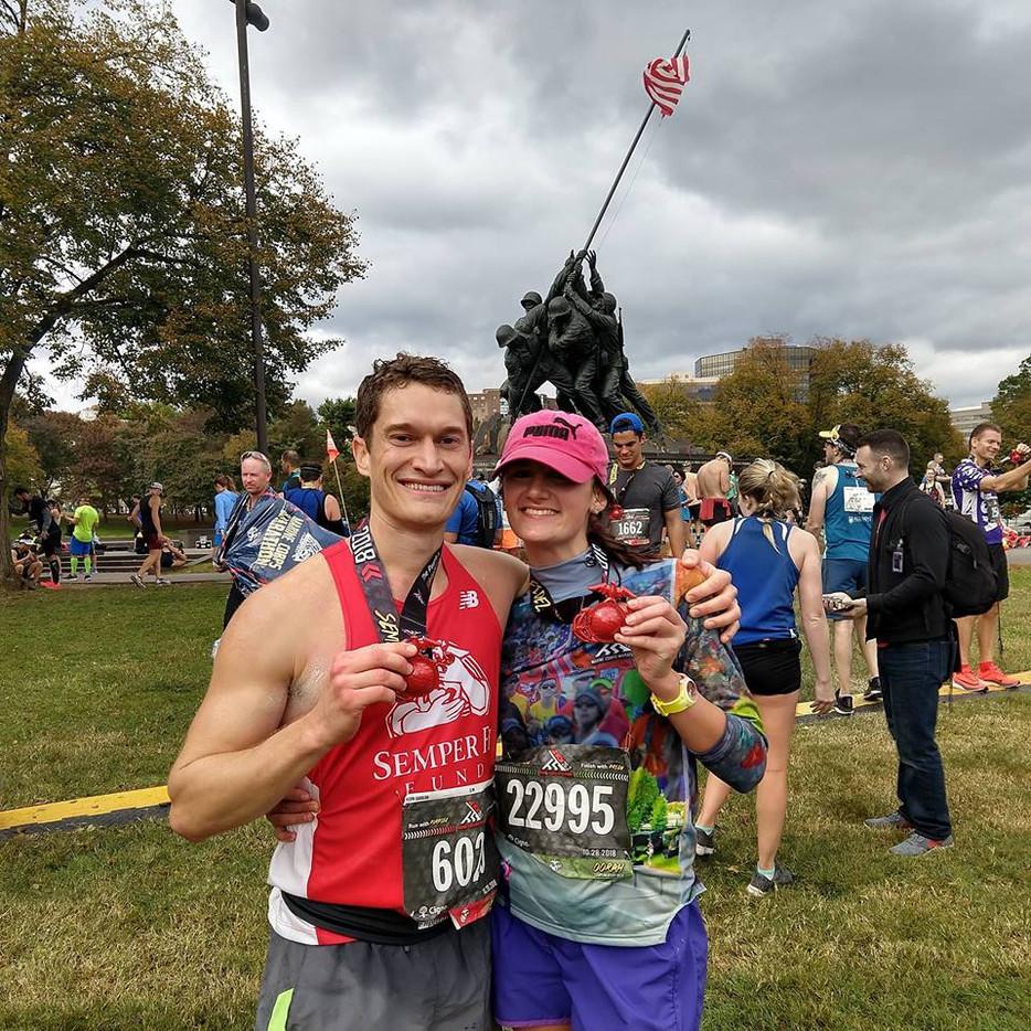Marine Corps Marathon!