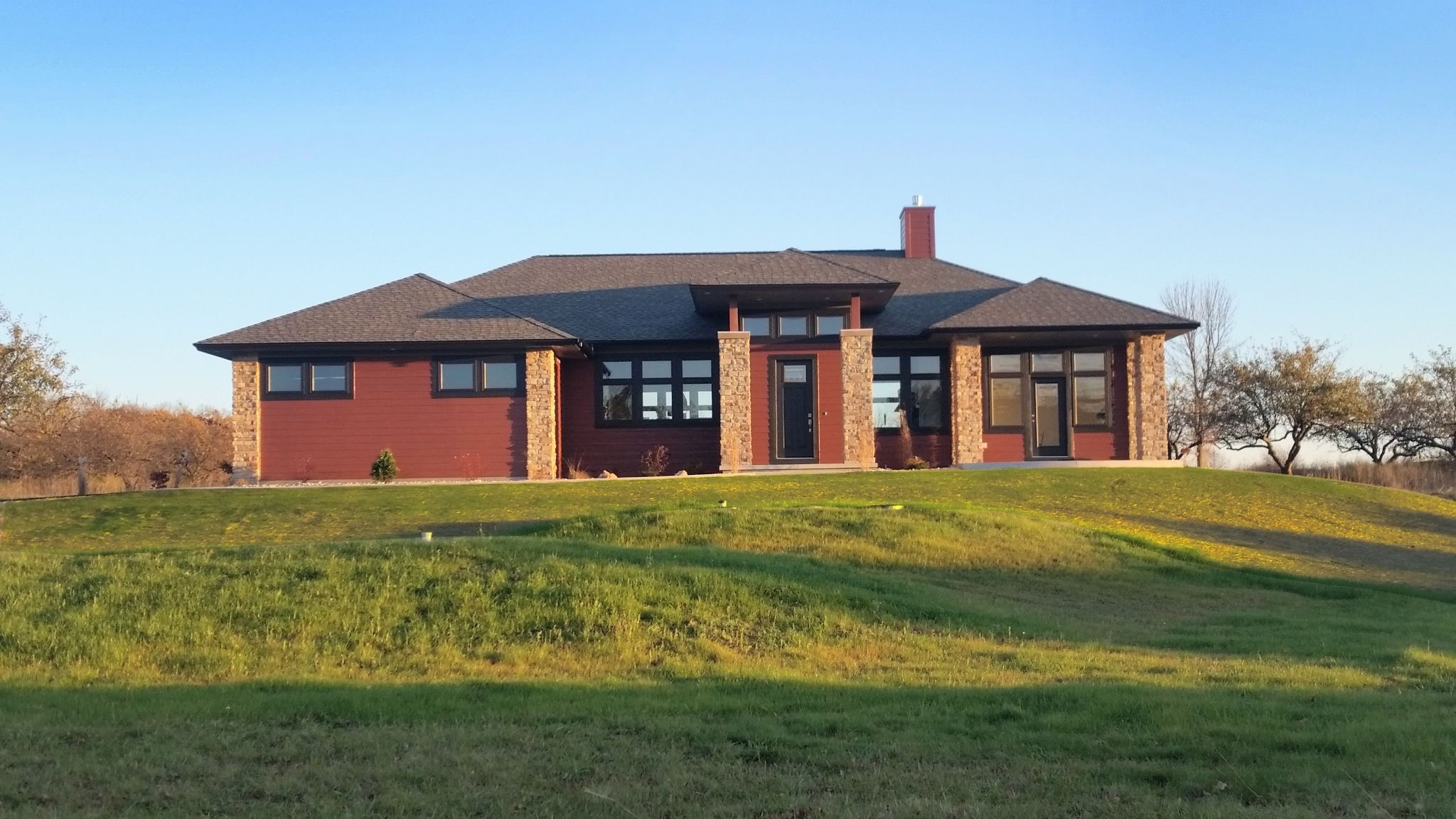 Modern Golf Course Ranch
