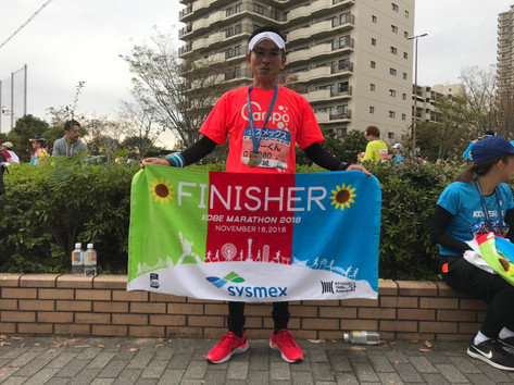 神戸マラソン2018