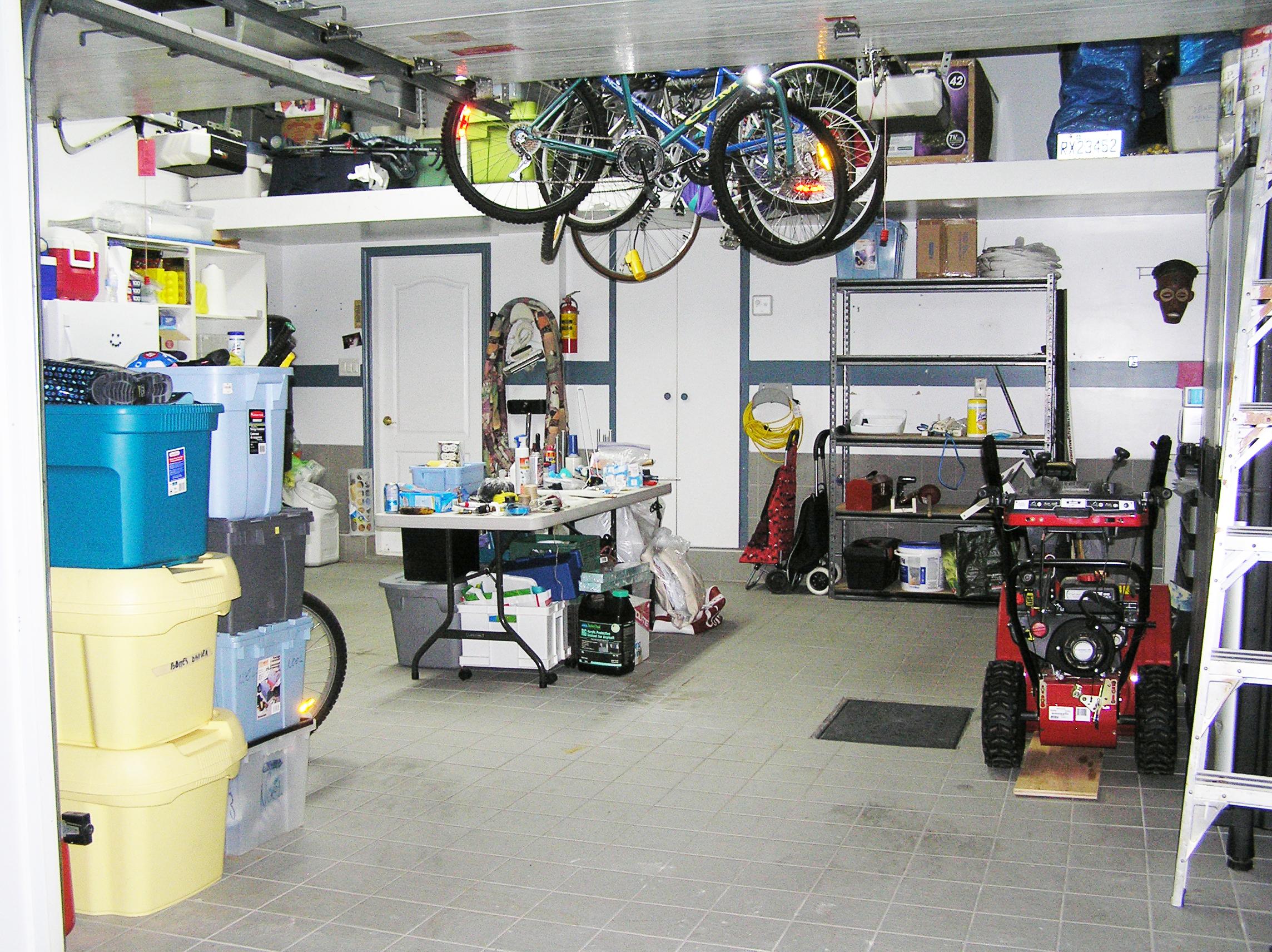 After - Garage