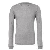 Mens Long Sleeve Gray