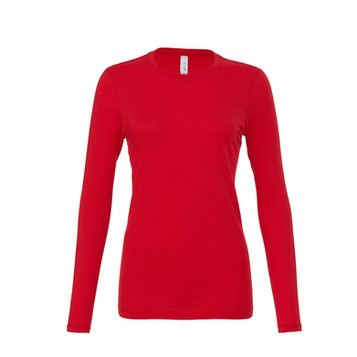 Womens Long Sleeve Red
