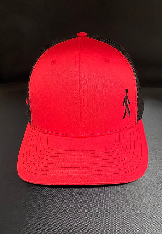 Jaywalker Trucker Hat Red