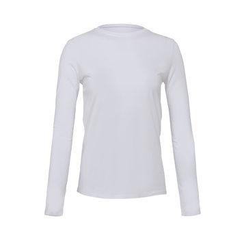 Womens Long Sleeve White